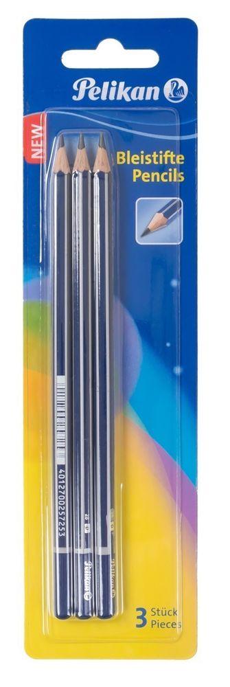 Pelikan Bleistifte 20x 3er Pack Härtegrad F Schulstifte Zeichenstifte Malstifte – Bild 2