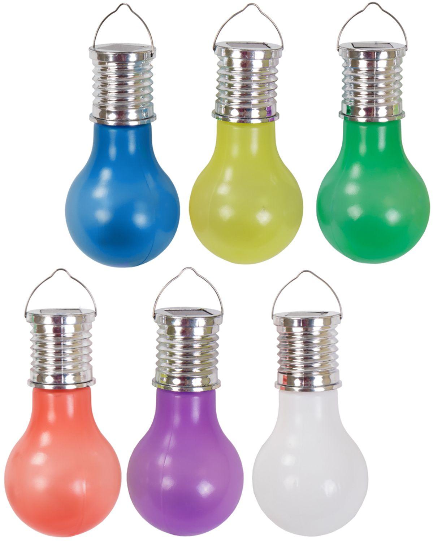 Led Kunststoff Glühbirne Garten Dekoleuchte Solarlampe Partyleuchte
