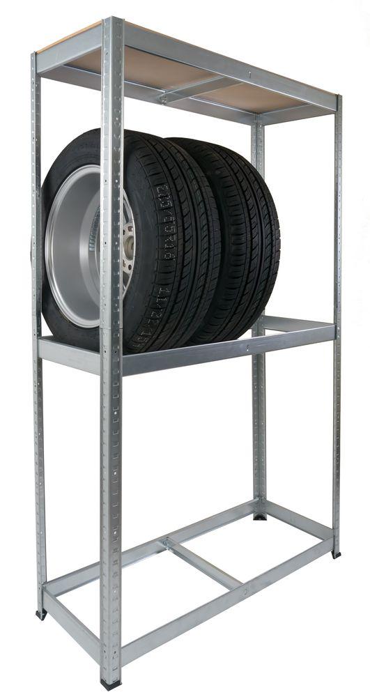 Autoreifen-Steckregal Werkstatt-Regal Reifenlagerung Reifenregal Schuppenregal – Bild 1