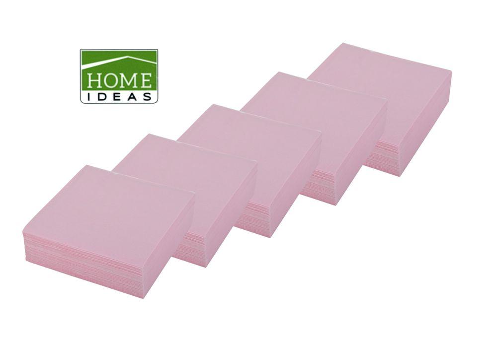 250 Servietten 33x33cm 3-lagig 1/4 Falz Papierserviette Tischdeko Papiertuch – Bild 1