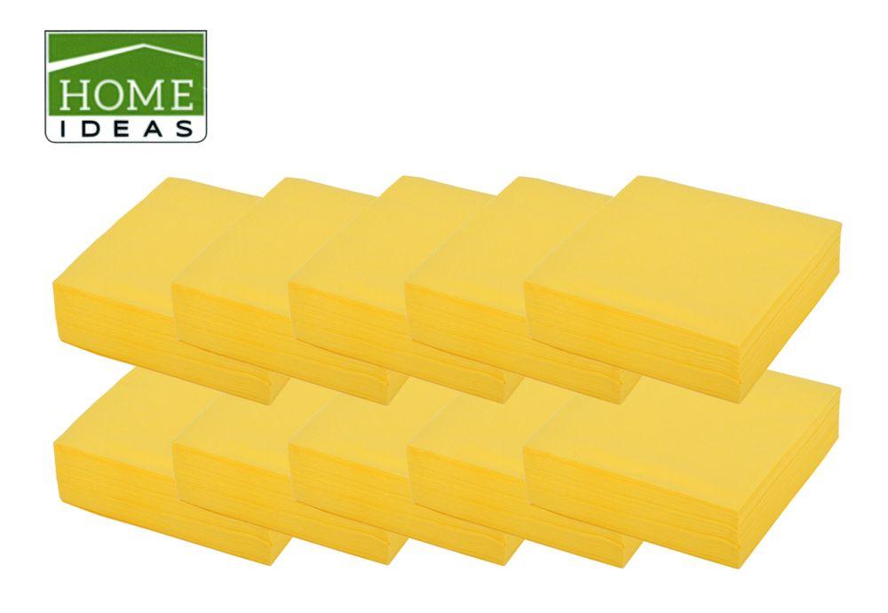 500 Servietten 33x33cm 3-lagig 1/4 Falz Papierserviette Tischdeko Papiertuch – Bild 1