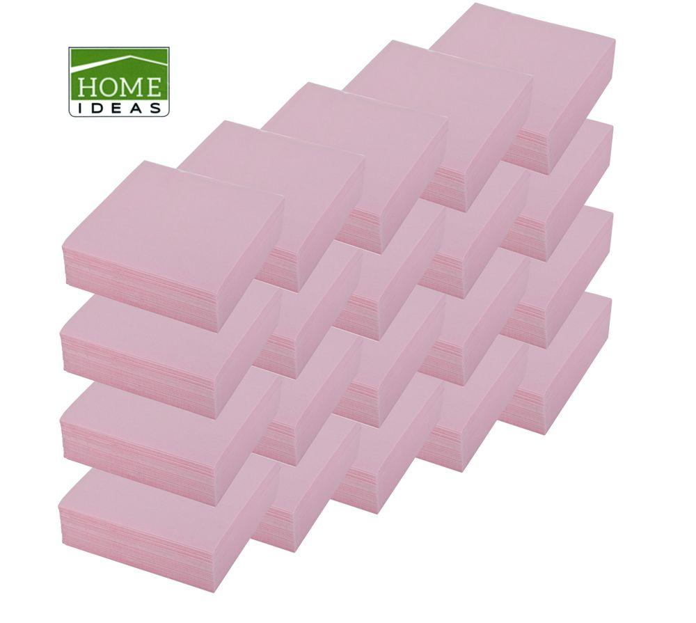 1000 Servietten 33x33cm 3-lagig 1/4 Falz Papierserviette Tischdeko Papiertuch – Bild 1