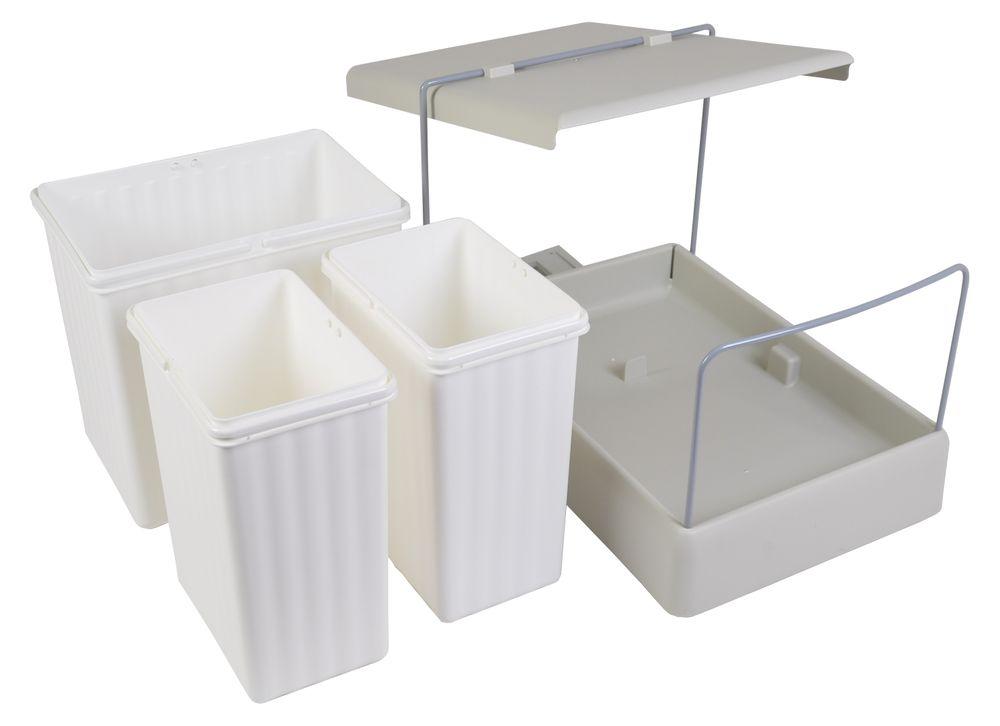 Wesco Einbau Abfallsammler Automatic Boy 237 Mülleimer Müllsammler Abfalleimer – Bild 3