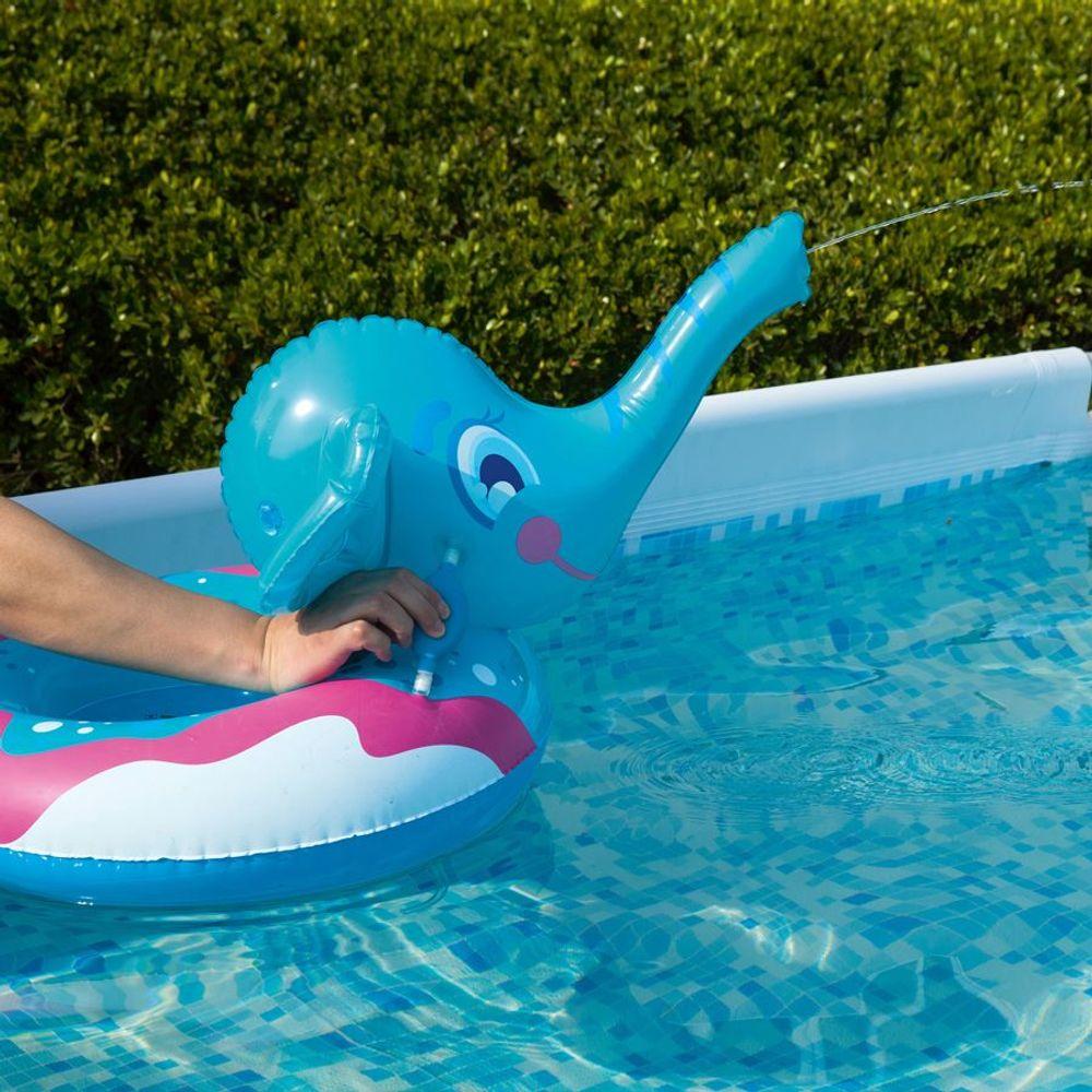 Bestway Schwimmring Elefant mit Sprührüssel Schwimmreifen Schwimmhilfe Badering  – Bild 4