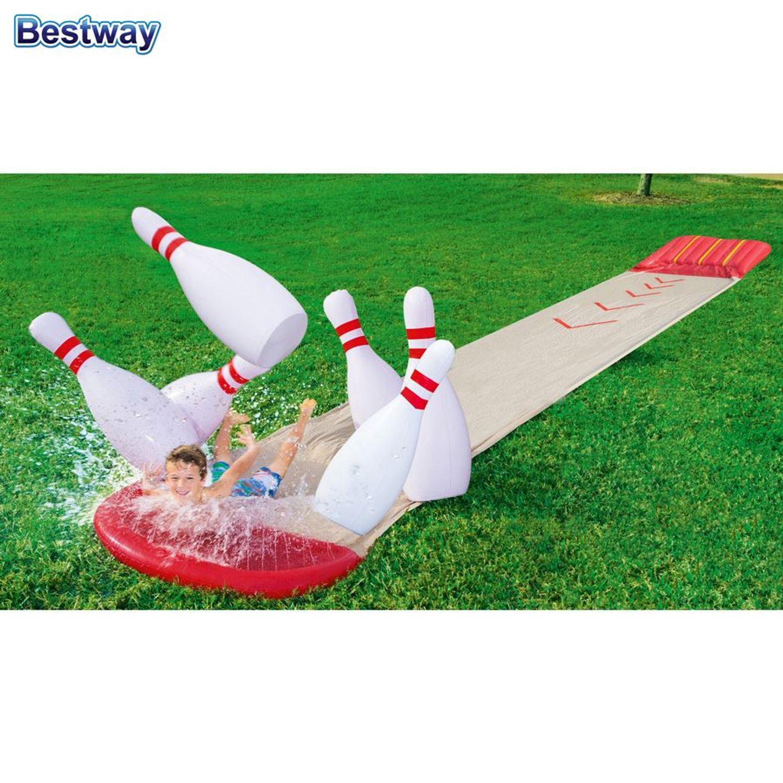 Bestway Bowling Wasserrutsche H2o Go Gleitrutsche Garten Rutschbahn