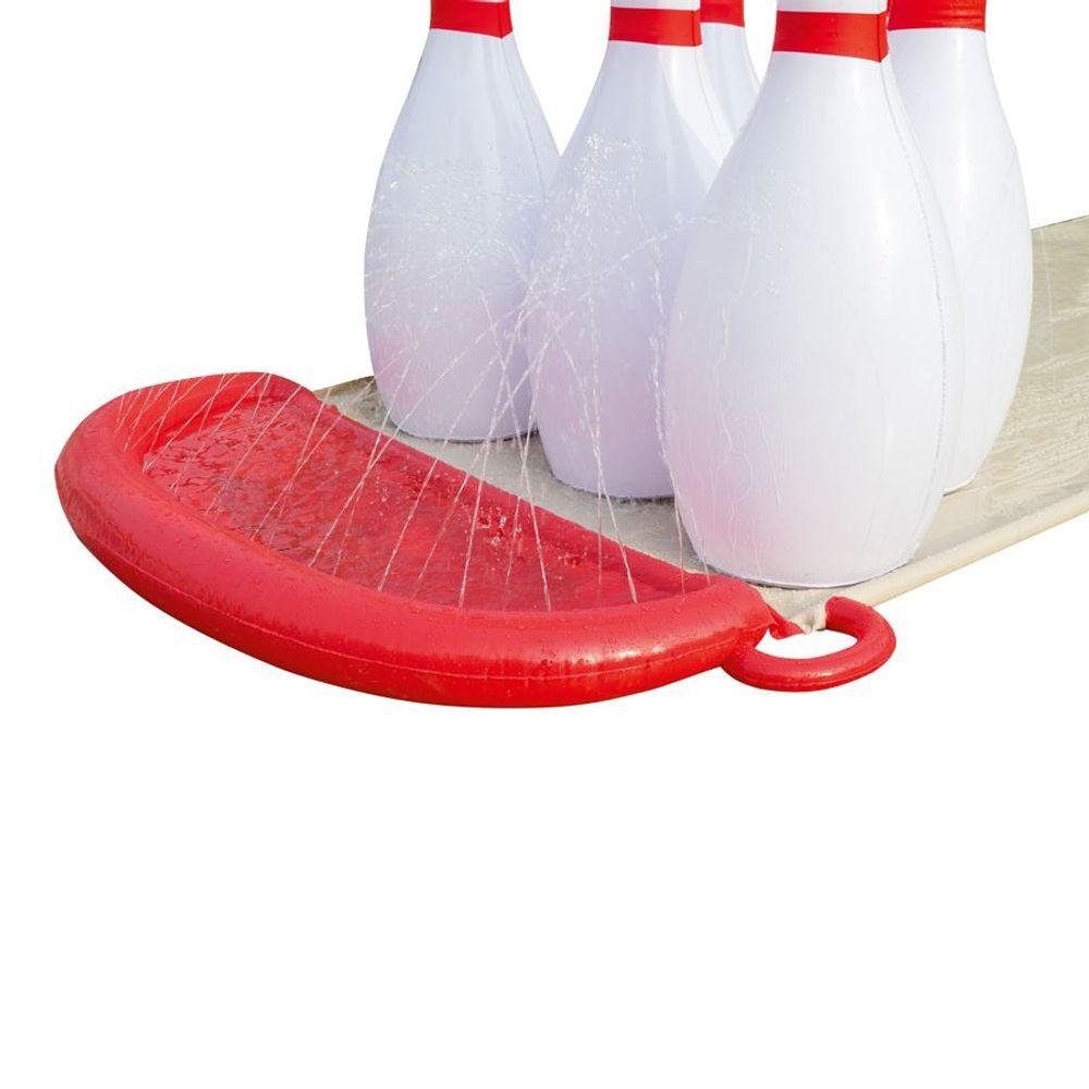 Bestway Bowling-Wasserrutsche H2O Go Gleitrutsche Garten-Rutschbahn Kegelbahn – Bild 3