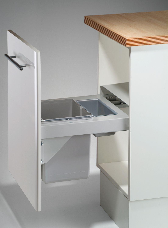 wesco pullboy soft 45 einbau abfallsammler 20 l wanne m lleimer abfalleimer m bel wohnen. Black Bedroom Furniture Sets. Home Design Ideas