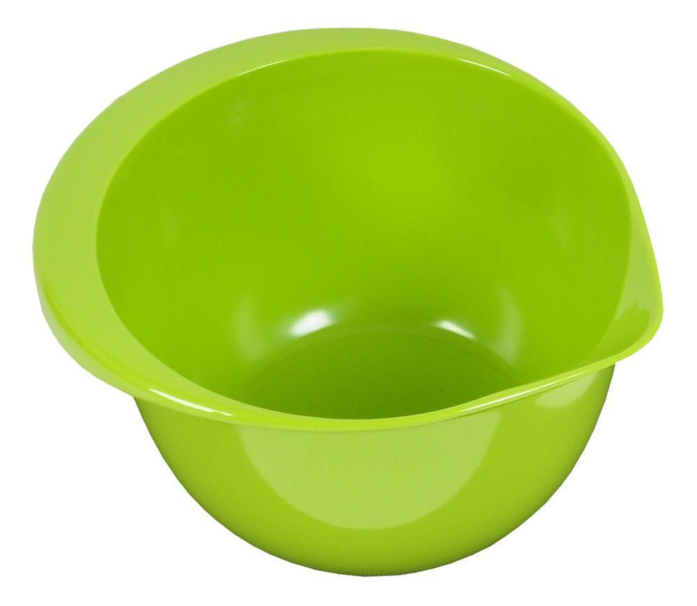 Emsa Rührtopf mit Schüttrand 3 Liter Salatschüssel Backschüssel Teigschüssel  – Bild 2
