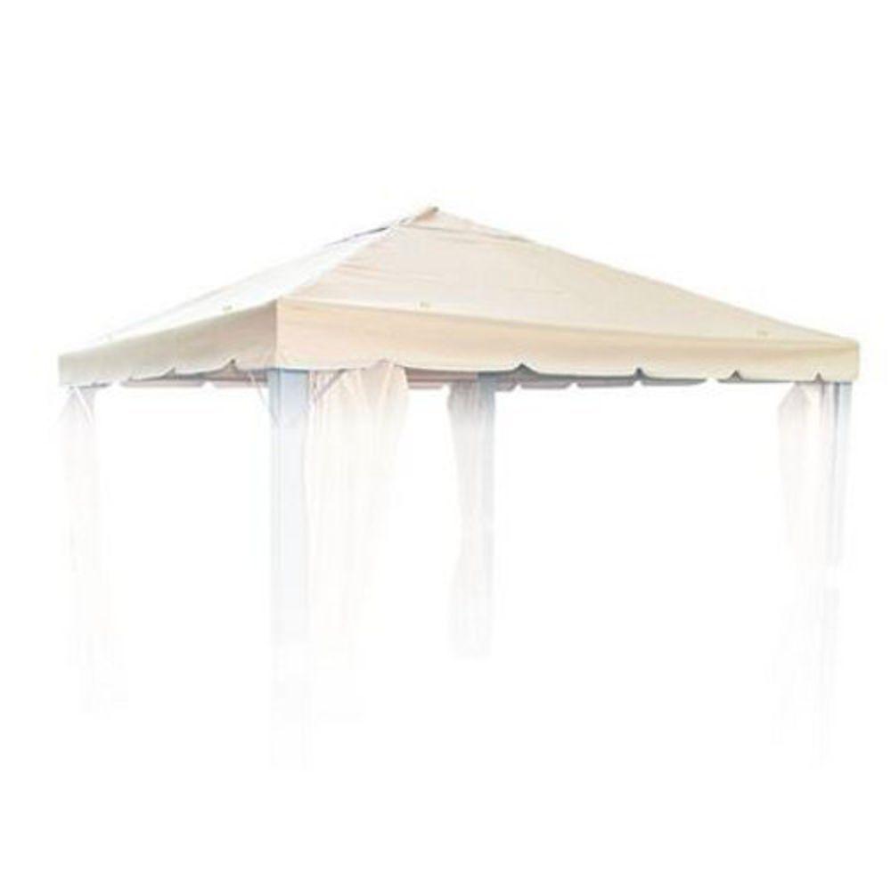 Ersatzdach für 3x3 Pavillon Natur Pavillondach Partyzelt Pavilliondach Dachplane