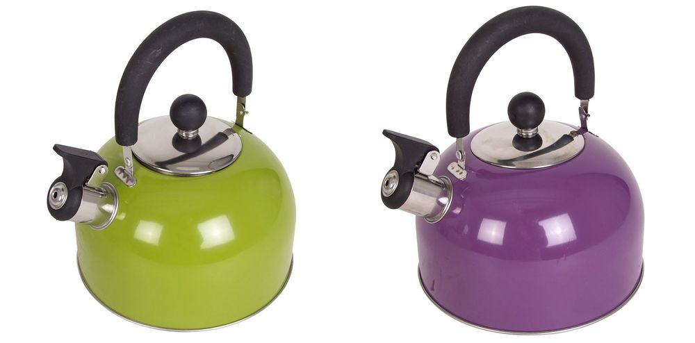 Edelstahl Flötenkessel 1,5L Pfeifenkessel Teekessel Wasserkocher Wasserkessel  – Bild 1