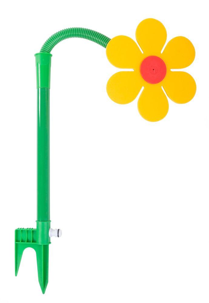 Rasensprenger Tanzende Blume Sprinkler Regner Spritzblume Garten Wasserspiel  – Bild 3
