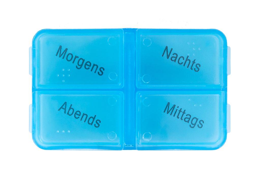 7 Tage Pillenbox Medikamentenbox Tablettenbox Pillendose Pillenturm Spender bunt – Bild 2