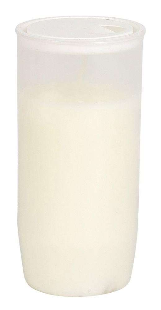 Jumbo Öl- Grablicht mit Deckel Weiß H 14,5 cm Kerze Schmuck Tagebrenner Laterne
