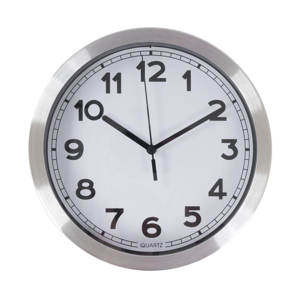 Wanduhr 20cm Küchenuhr Wohnzimmeruhr Baduhr Uhr Quarz Quartz Uhrwerk Bahnhofsuhr – Bild 1