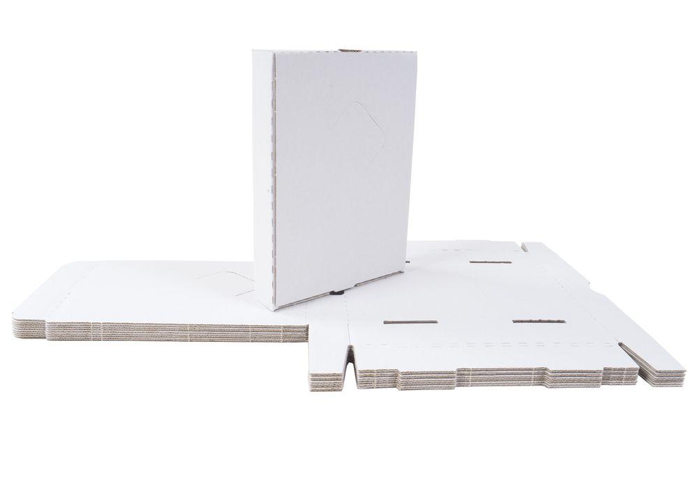 10 Kartons 185x135x35 Versandkarton Faltkarton Großbrief Pappkarton Warensendung – Bild 1