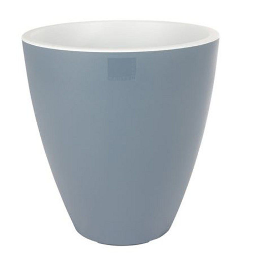E&K Pflanztopf Vase 39cm Pastellfarbe Kunststoff Blumentopf Kübel Garten Balkon – Bild 4