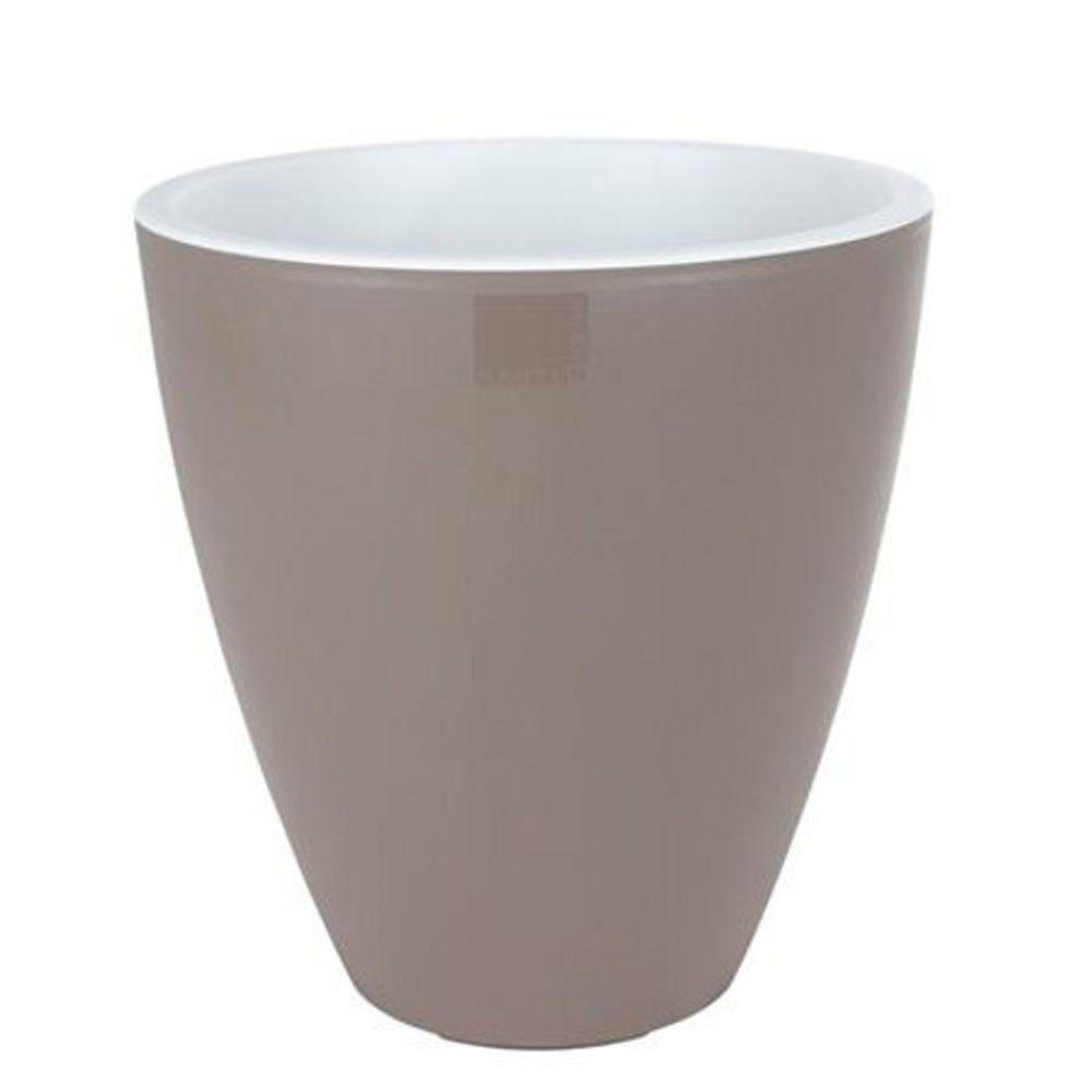 E&K Pflanztopf Vase 39cm Pastellfarbe Kunststoff Blumentopf Kübel Garten Balkon – Bild 5