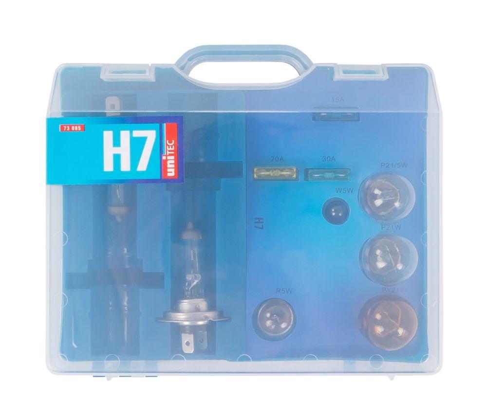 4x Auto-Ersatzlampen-Koffer H7 Scheinwerfer Bremslicht Blinklicht Rücklicht  – Bild 5
