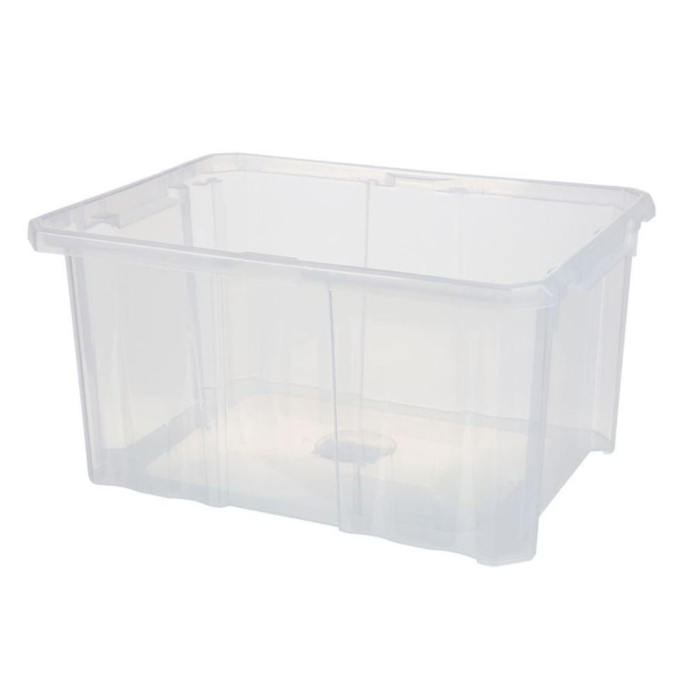 Aufbewahrungsbox 40x29x20,5cm Stapelbox Werkzeugkiste Spielzeugkiste Kunststoff – Bild 2