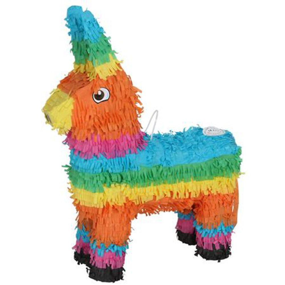 Pinata Esel 41x55cm Kindergeburtstag Mottoparty Partydeko Piñata Partyspiel