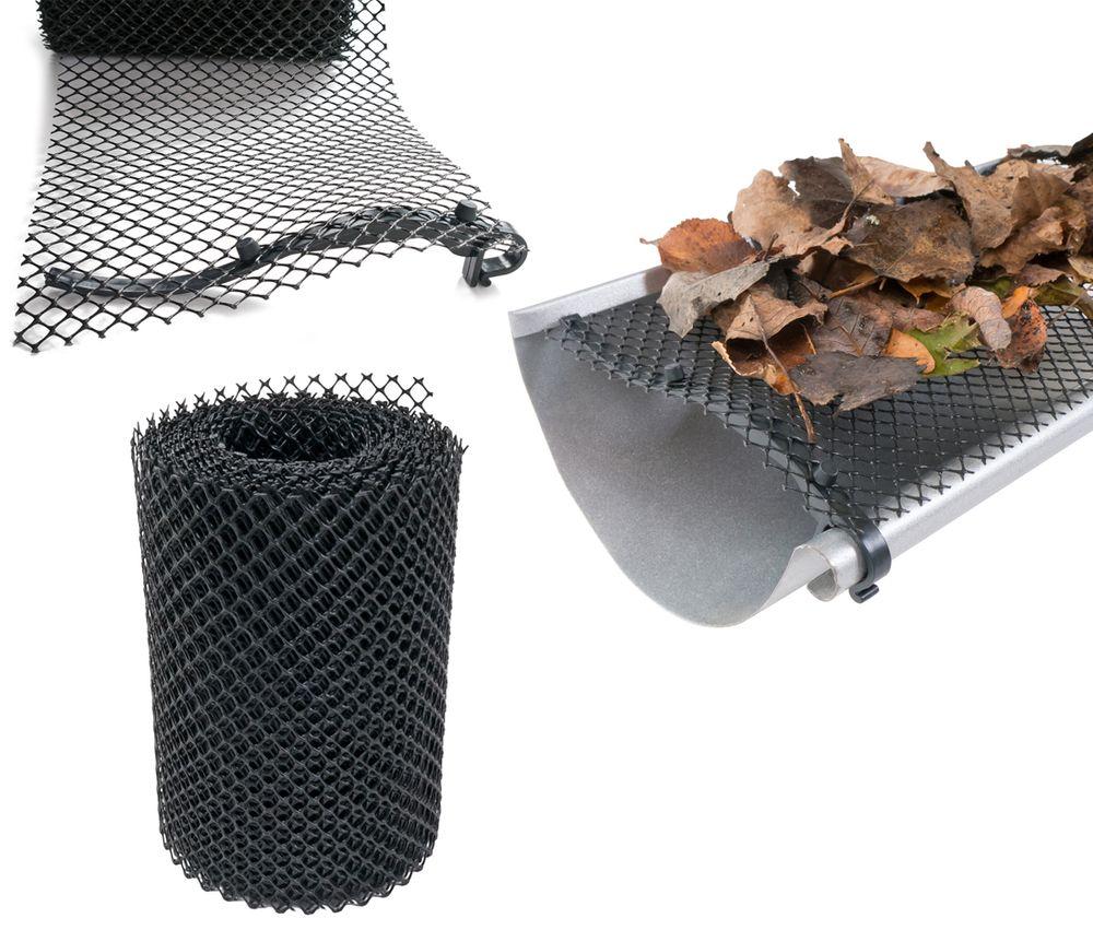 Dachrinnenschutz 6m Dachrinnengitter Laubschutz – Bild 1