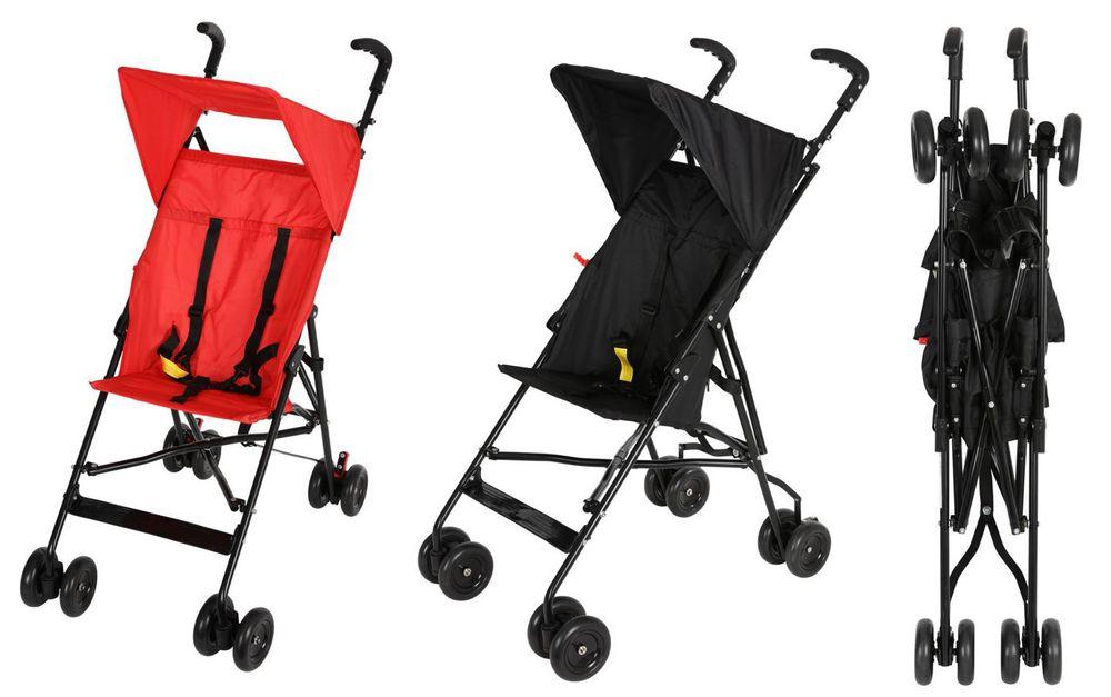 Kinderbuggy Kinderkarre Reisebuggy Sportkarre Sitzbuggy Schwenkräder klappbar  – Bild 1