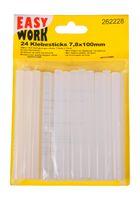 24er-Set Mini Heißklebesticks 100x7mm Klebepatronen Heißklebestifte Bastelkleber 001