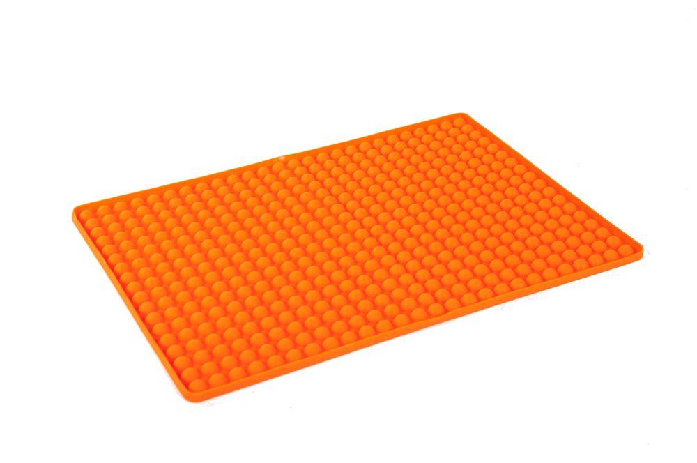 2 Stück Silikon Backunterlage Teigmatte Backmatte Teigunterlage Ausrollmatte  – Bild 4