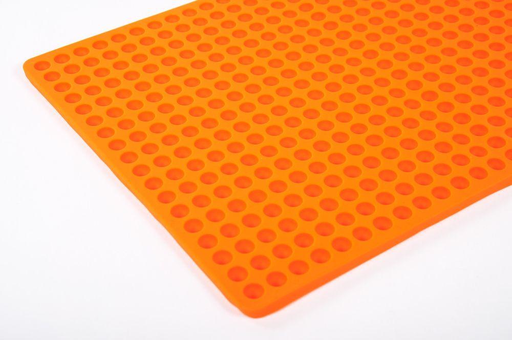 Silikon Dauerbackmatte mit Noppen + GRATIS Dosenöffner Backunterlage Untersetzer – Bild 3