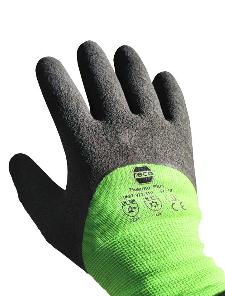 RECA Thermo Plus Arbeitshandschuhe Gr.10 Winterhandschuhe Kälte-Schutzhandschuhe – Bild 3