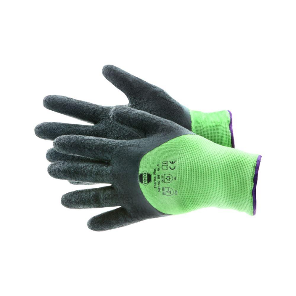 RECA Thermo Plus Arbeitshandschuhe 3x Gr.11 Winterhandschuhe Schutzhandschuhe – Bild 2