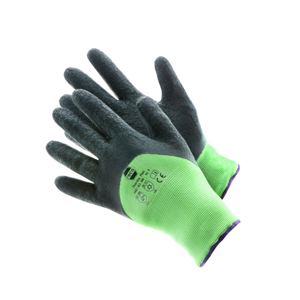 RECA Thermo Plus Arbeitshandschuhe 3x Gr.10 Winterhandschuhe Schutzhandschuhe – Bild 2