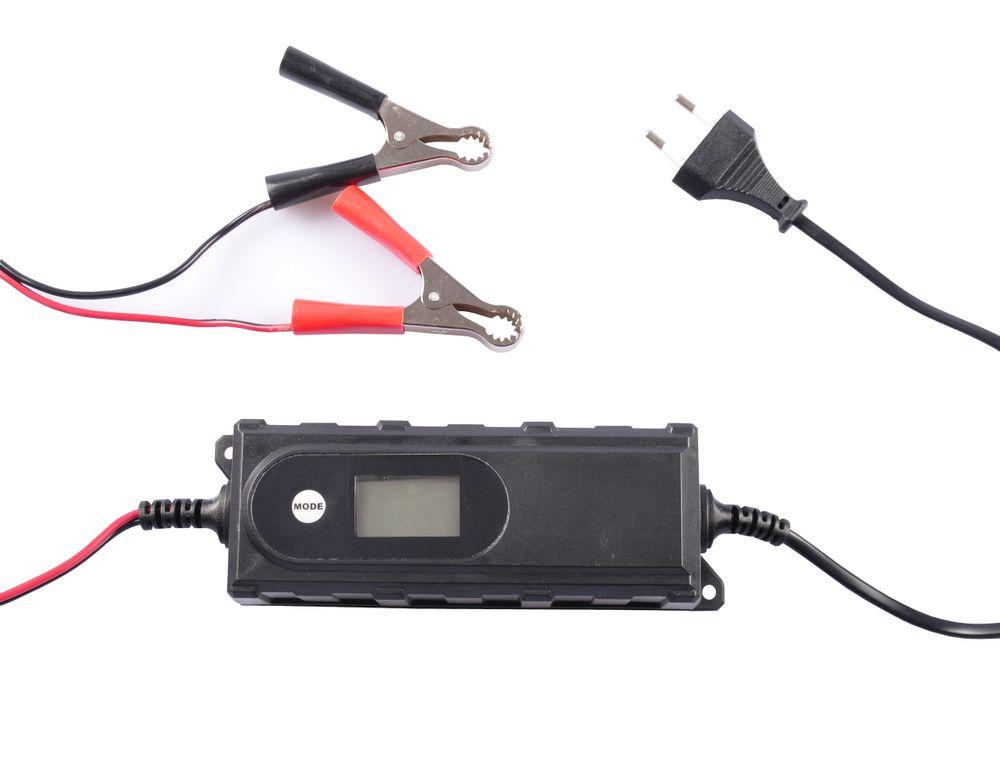 Batterieladegerät Batterieerhaltungsgerät Ladegerät Motorrad Boot Autobatterie – Bild 2