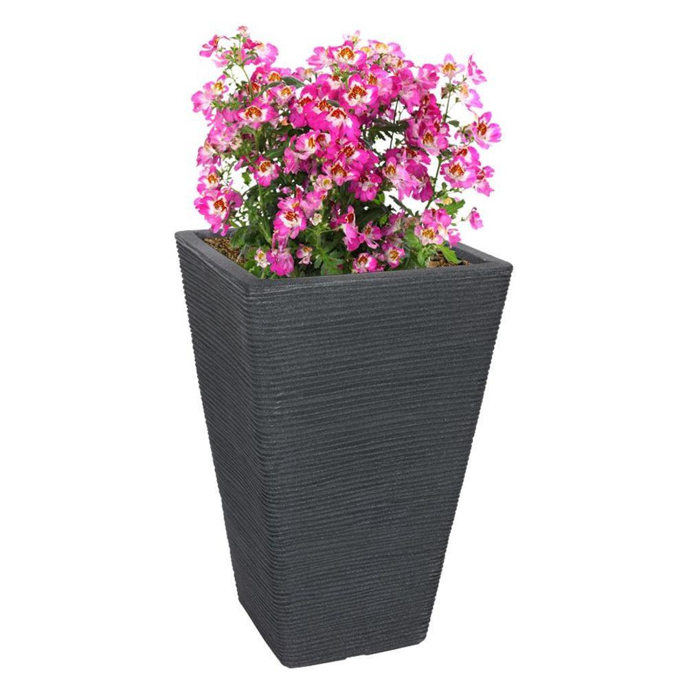 Pflanztopf 55x35x35cm Blumentopf Pflanzkübel Übertopf Blumenkübel Kunststoff  – Bild 1