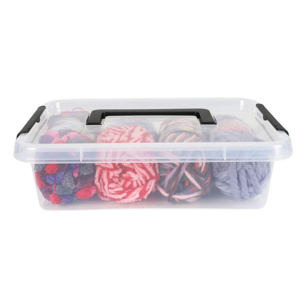 Aufbewahrungsbox mit Deckel Spielzeugkiste Sammelbox Stapelbox Kiste Allzweckbox – Bild 2