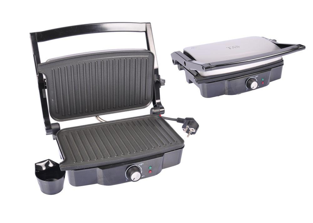 Kontaktgrill Elektrogrill Tischgrill Barbecue Grill Sandwichtoaster Panini Maker – Bild 1