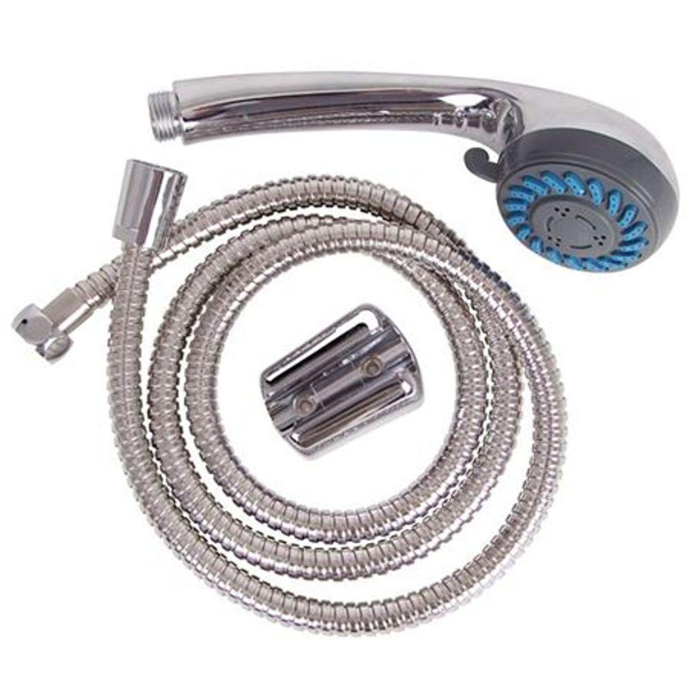 Multifunktions-Handbrause-Set 2-Strahlarten Duschkopf Duschbrause Anti-Kalk