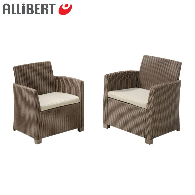 allibert lounge sitzgruppe merida cappuccino gartenm bel m belset terrassenm bel garten m bel. Black Bedroom Furniture Sets. Home Design Ideas