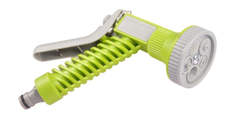 Multifunktions-Gartenbrause 5 Strahlarten Gartenspritze Handbrause Wasserbrause  – Bild 1