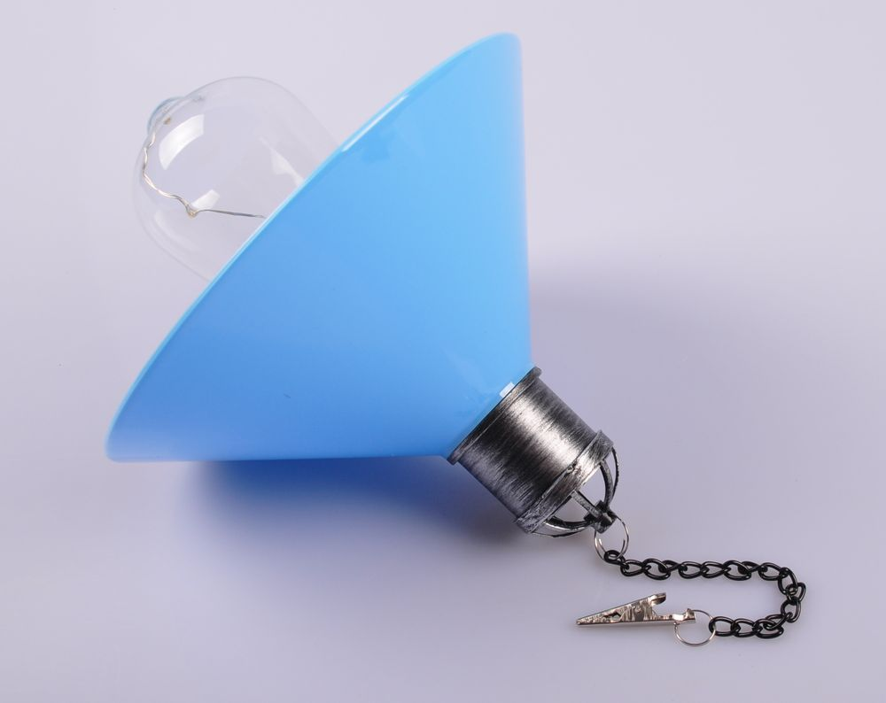 LED Hängeleuchte Solarleuchte Gartenleuchte Hängelampe Solarlampe Gartendeko  – Bild 5