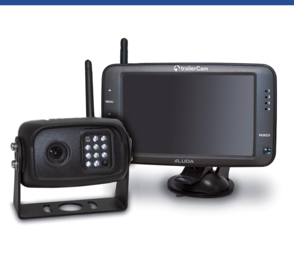 Überwachungskamera Luda trailerCam 5D - DIGITAL - Komplett Set Pferdeanhänger  – Bild 1