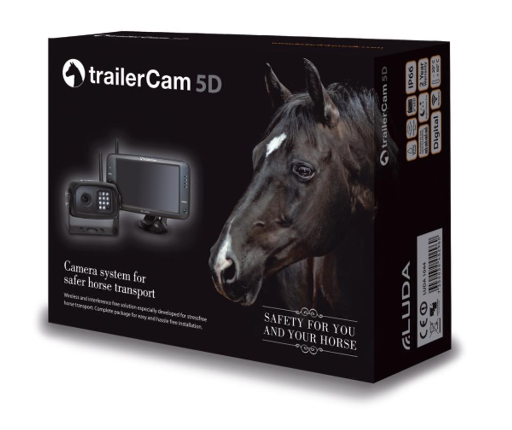 Überwachungskamera Luda trailerCam 5D - DIGITAL - Komplett Set Pferdeanhänger  – Bild 2