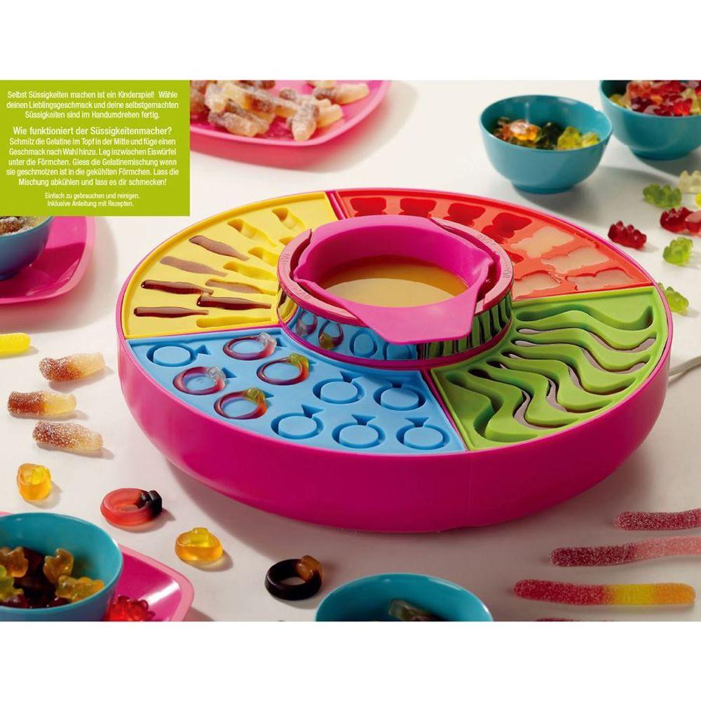 Candy-Maker Süßigkeiten Silikonform Schokolade Gummibärchen Kindergeburtstag  – Bild 1