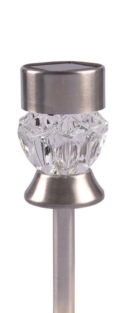 Solar-Gartenstecker Diamant mit Farbwechsler Solarlampe Solarleuchte Gartenlampe – Bild 2