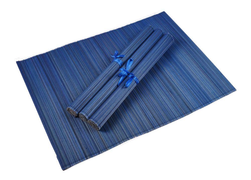 Bambus Platzset 4er Platzdeckchen Tischmatten Platzmatte Untersetzer Tischdecke – Bild 6