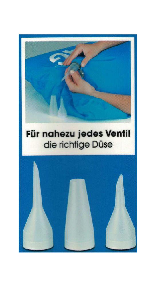 FLUXBAG Luftpumpe Luftmatratze Reisekissen Strandtasche Pumpe Strandutensilien – Bild 3
