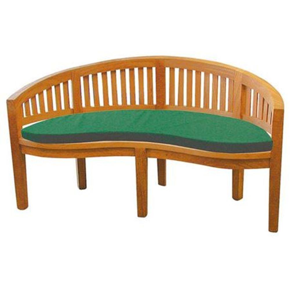 Auflage für Banana Bank grün Sitzauflage Sitzpolster Bankauflage Bankkissen