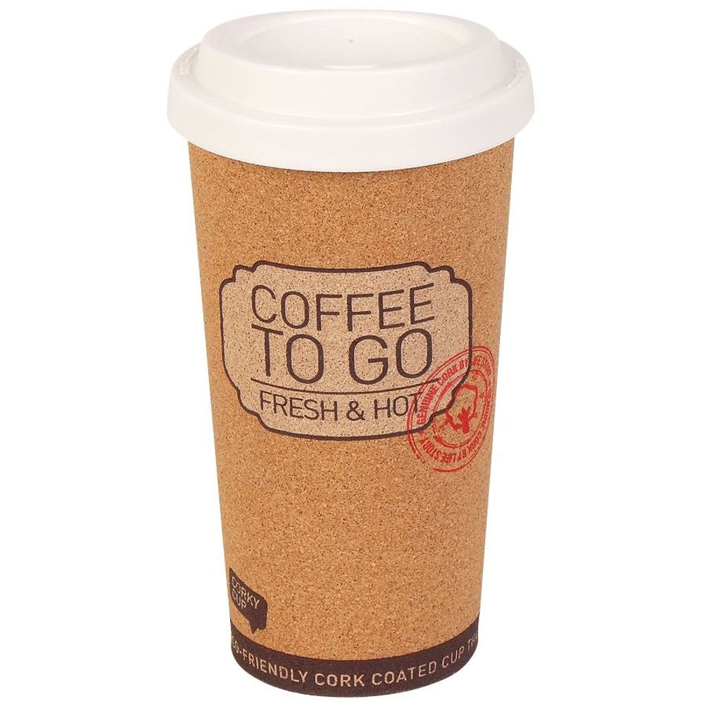 Coffee to go Becher 450ml Kaffeebecher Reisebecher Thermobecher Isolierbecher  – Bild 2