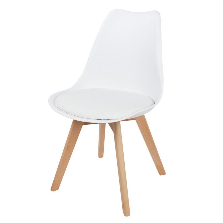 Cool Schalenstuhl Gepolstert Ideen Von Weiß Esszimmerstuhl Retro Sessel Küchenstuhl Schalensitz