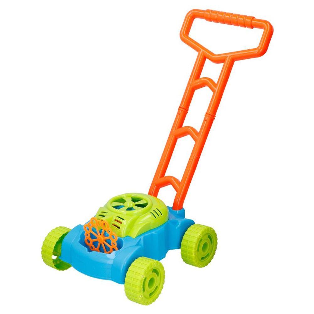 Bubblez Seifenblasen-Rasenmäher Seifenblasenmaschine Kinder Spielzeug Garten – Bild 1